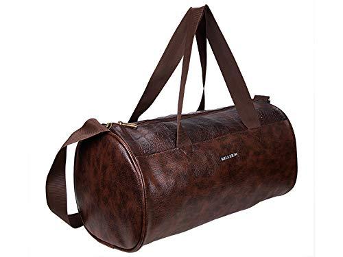 Killer Royal PU Leather Gym Bag