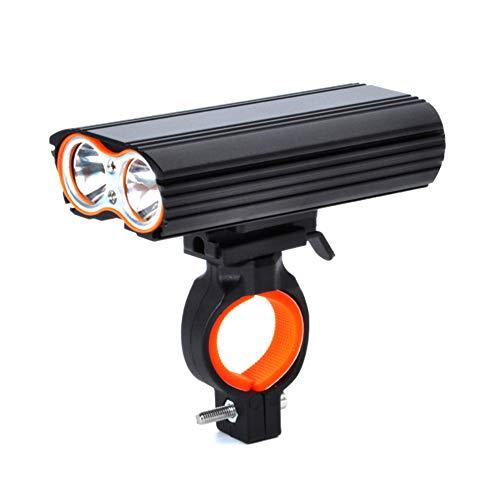 NENGGE Bike Lights, 2000 Lumen Super Bright Bike Koplamp, Stevige Duurzame Nacht Rijden Fiets Koplamp met 4400mAh Batterij, Past op alle Fietsen