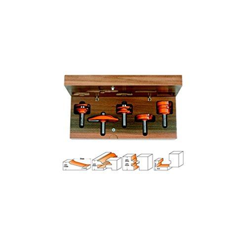 CMT Orange Tools 900,511,11-Coffret 5 s pour cuisines fraises hm 12
