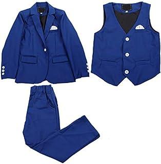 JKTOWN ボーイズ 男の子 スーツ 洋服 コート ジャケット ズボン ベスト シャツ 3点セット 4点セット キッズ 入学式 入園式 発表会 結婚式 七五三 撮影 フォーマル 2-9歳