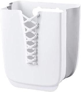 GWZZ Panier de buanderie Murale Maison Pliable Maison de Rangement Panier perforé Salle de Bains Panier de blanchisserie,W...