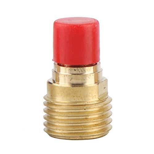 Cuerpo de la boquilla de la lente de gas de la antorcha de soldadura TIG, cuerpo de la boquilla de la lente de gas 45V44 2,4 mm 3/32'para la antorcha de soldadura TIG WP-9/20/25(1PCS)
