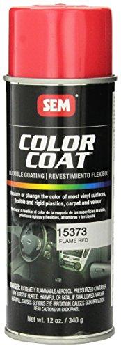 Tinte base disolvente en aerosol para cuero, vinilo, plasticos y moquetas (15373 Flame Red)