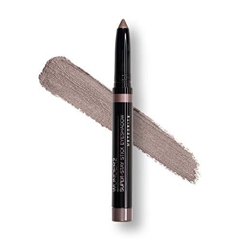 Wunder2 SUPER-STAY STICK EYESHADOW Makeup Eye Shadow Pencil Crayon Long Lasting Waterproof Metallic, Meteorite