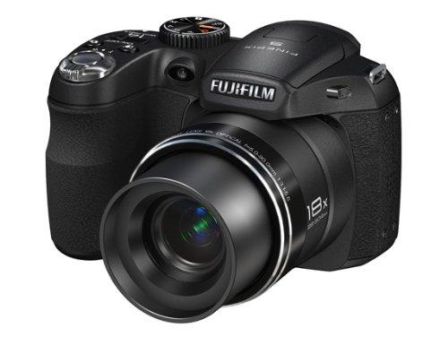 Fujifilm FINEPIX S2950 Digitalkamera (14 Megapixel, 18-fach opt. Zoom, 7,6 cm (3 Zoll) Display, bildstabilisiert)