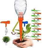 HonLena Automatisch Bewässerung Set,12 Pack Bewässerungssystem für alle Flaschen,Plant Selbstbewässernde Spikes mit Anti-Tilt Anti-Down-Halterung