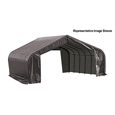 ShelterLogic 82143 Grey 22'x24'x12' Peak Style Shelter