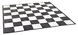 3m square chequered black and white PVC mat - perfect for use in the garden with Giant Chess or Draughts pieces The thick PVC mat is designed to withstand the rigours of life in the garden and allow players to walk on the mat with confidence. Ground ...
