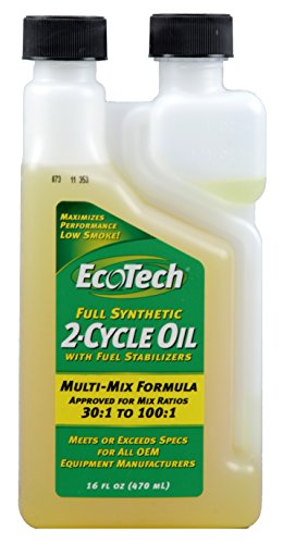 EcoTech Full Synthetic 2-Cycle Oil, 16-Ounce