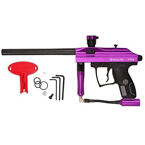 Kingman Spyder Xtra Semi-Auto Paintball Gun (Gloss Purple)