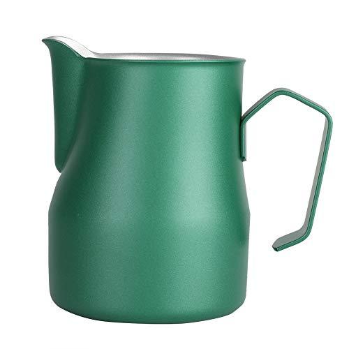Schaumbecher, Edelstahl Milch Schaumbecher Kaffeekanne Krug Latte Art für Coffee Shop(05)