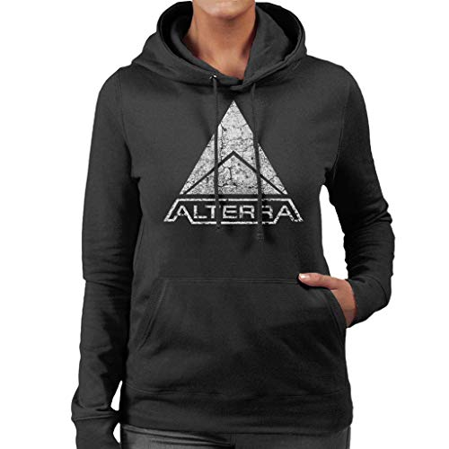 huaiyuang Alterra Logo Subnautica White Women's Hooded Sweatshirt
