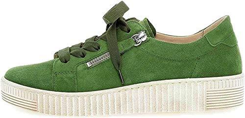 Gabor Jollys Sneaker in Übergrößen Grün 43.334.12 große Damenschuhe, Größe:42