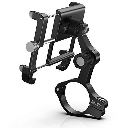 F Fityle Soporte para Teléfono a Prueba de Golpes Bicicleta de Carretera de Montaña Soporte para GPS Soporte de Montaje Estante