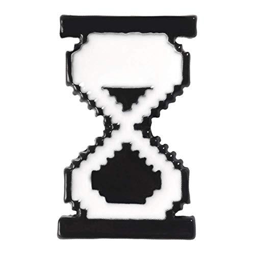 JXtong2 Brosche Pixel-Cursor Mauszeiger klicken auf Alten Computer Lupe Sanduhr Monitore Hand Pfeil Emaille Abzeichen Broschen Pins