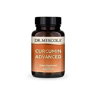 Dr Mercola Curcumin Advanced (500mg, 30 Capsules)