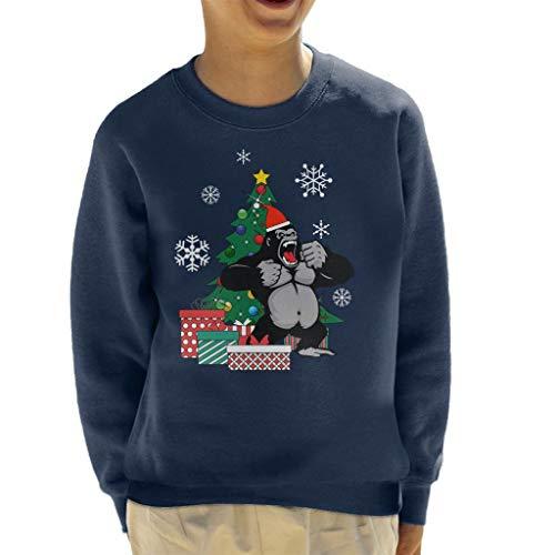 Cloud City 7 King Kong rond de kerstboom Sweatshirt voor kinderen