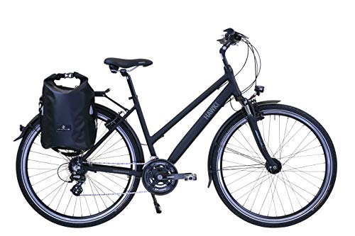 HAWK Trekking Lady Premium Plus (inkl. Tasche) (schwarz, 44 cm)