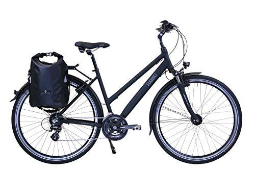 HAWK Trekking Lady Premium Plus (con borsa) (nero, 44 cm)