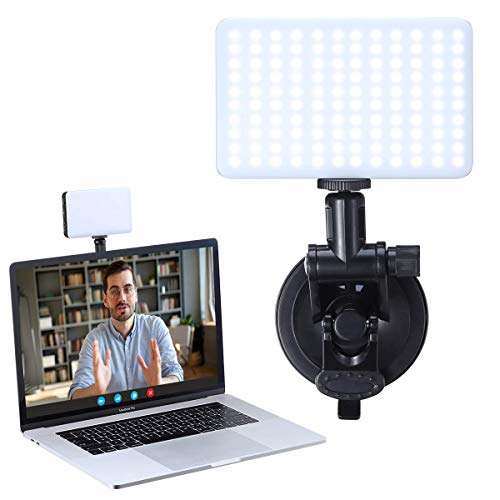 Laptop Light for Video Conferencing VIJIM Computer Video Conference Lighting for Remote Working, Mac Desk Zoom Call Led Light for Video Recording, Self Broadcasting, Live Streaming