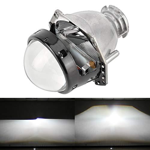 LYN Xenonscheinwerfer IPHCAR Hella7 3,0-Zoll-Universal-Auto-Änderung Bi-Xenon Projektor-Objektiv-Licht for D-Serie Glühbirne, rechts Fahren