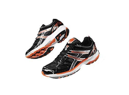 Crivit Damen Laufschuhe Fitness Schuhe Sportschuhe Trainingsschuhe Top Qualität NEU (37 EU Schwarz-Orange)