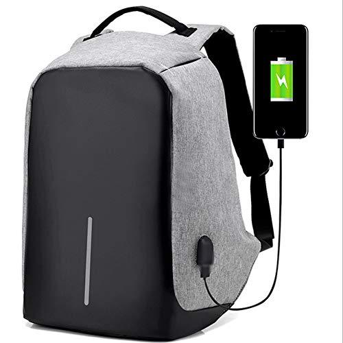 BABI Multifunctionele reisrugzak met USB-oplading voor school, wandelen, kamperen, sport bij open lucht, werk