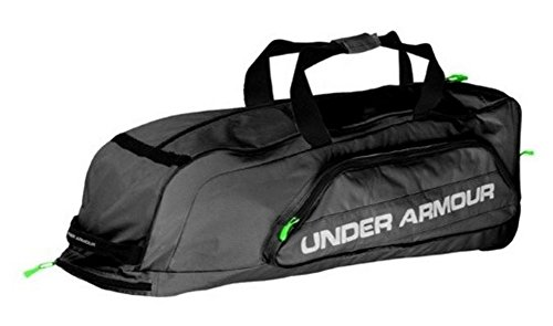 Under Armour 2 Stick Water Resistant Lacrosse Equipment Gear Backpack Bag, Black