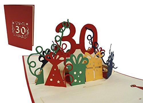 Natale DEESOSPRO/® Biglietto dauguri Biglietto Laurea Biglietto Anniversario Festa del Pap/à Regalo per Compleanno con Creativo 3D Pop-up Modello Laurea Bicicletta