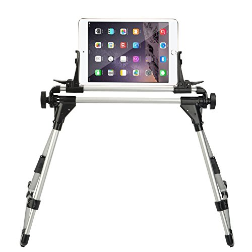 StillCool Supporto Universale per Cellulare Tablet Bed iPad Supporto per Tablet Appendiabiti Frame Intersection Angle & Easy Adjustment per iPad iPhone Samsung Galaxy Tab (Bianco-1)