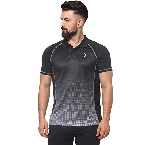 Campus Sutra Graphic Designed Active Dry Fit Sports Jersey T ...