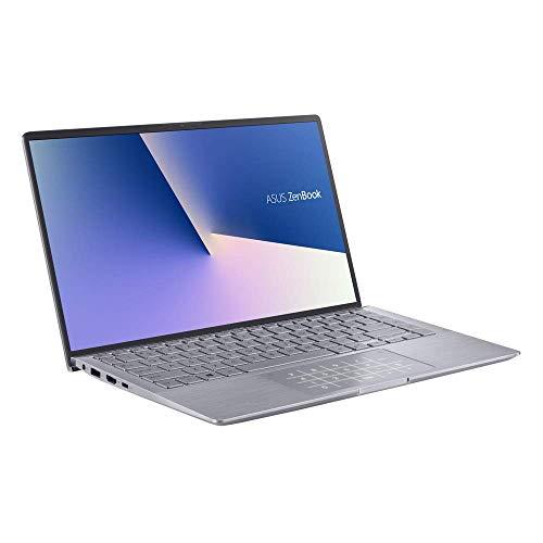 ASUS Computer ZenBook 14 UM433IQ (90NB0R89-M00510) 35,5 cm (14 Zoll, Full HD, IPS-Level, matt) Ultrabook (AMD R7-4700U, NVIDIA GeForce MX350 2GB, 16GB RAM, 512GB SSD, Windows 10) Light Grey