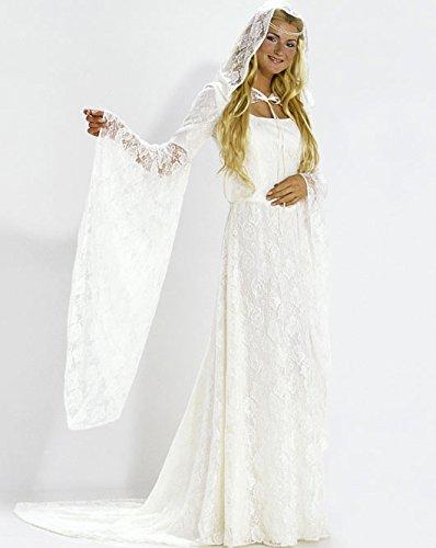 Burda 2484 Schnittmuster Kostüm Fasching Karneval Fee Elfe Braut (Damen, Gr. 36-46) – Level 3 Mittel