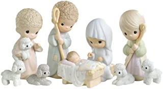 Precious Moments Nativity Series, Set/9 Nativity Figurines W/CD