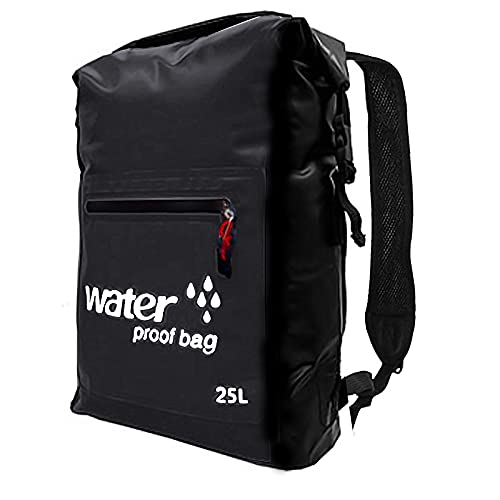 Dry Bag - Mochila impermeable de 25 l, para playa, surf, kayak, buceo, rafting...