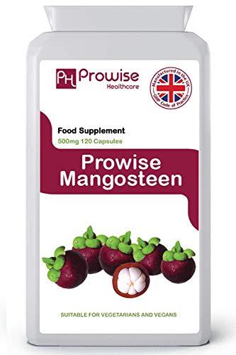 Integratore alimentare antiossidante Mangosteen 500mg 120 Capsules-Superfood a supporto del sistema...