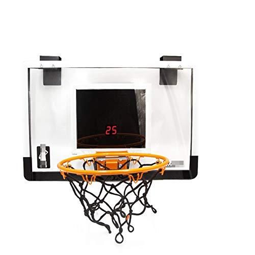 MHCYKJ Canasta Baloncesto Interior Puerta Tablero De Aro Montado En La Pared Bomba Bola Juego Mini para Niños con Pelotas Puertas Casa Oficina