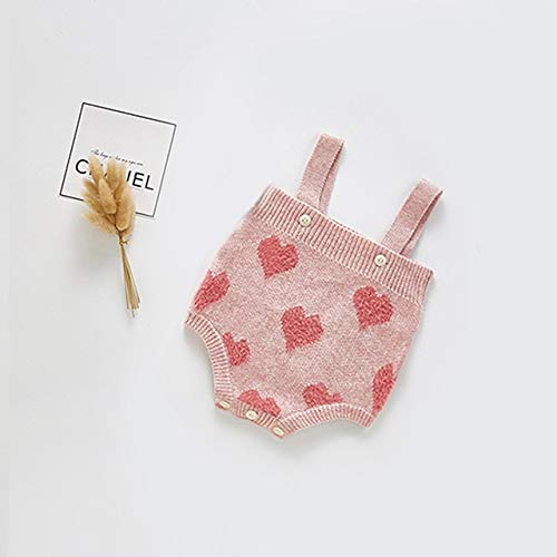 HAOJUE Sudaderas de bebé recién nacido, Bebes Chaquetas y abrigos de punto de algodón para otoño de manga larga para niños (color: 2, tamaño: 12 m)