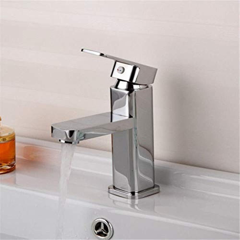 DMNJD Moderne einfacheKupfer hei und kalt Wasserhhne KüchenarmaturKupfer heien und kalten Waschbecken heien und kalten Wasserhahn thermostatischen Wasserhahn Geeignet für alle Badezimmer