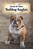 Carnet De Notes Bulldog Anglais: Chiot ou Chien | A5 139 Pages Avec Papier Pointillé | Bullet Journal | Lettering | Art Notes | Cahier | Dotted Journal | Notebook