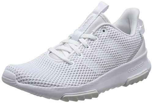 adidas Women's Cloudfoam Racer Tr Competition Running Shoes, White (Ftwwht/Ftwwht/Msilve 000), 9.5 UK