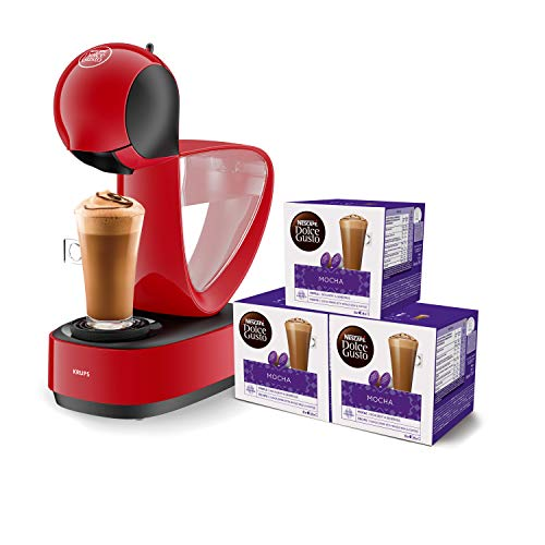 Krups Dolce Gusto Infinissima KP1705 - Cafetera cápsulas Dolce Gusto, 15 bares y 1500 W, con...