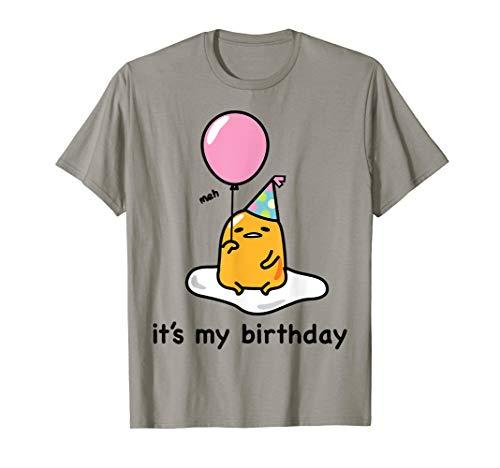 Gudetama Birthday Geburtstag T-Shirt