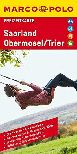 MARCO POLO Freizeitkarte Saarland, Obermosel, Trier 1:115 000