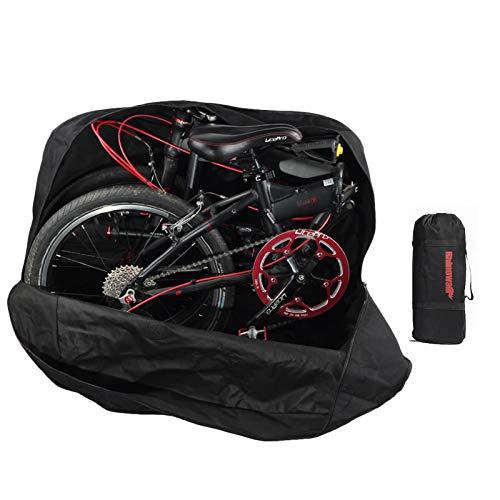 Huntvp Borsa Trasporto per 20 Pollici Pieghevole Bici, Borsa per Pieghevole Bicicletta Sacchetto Porta Bici Pieghevole Impermeabile per Ciclismo Viaggio