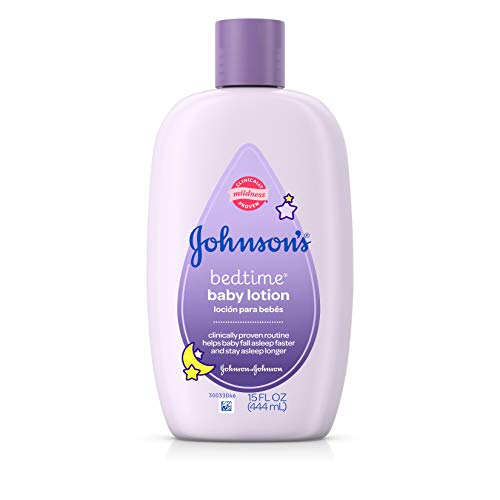 Johnson's Bedtime Baby Lotion, 15.0 Fl. Oz