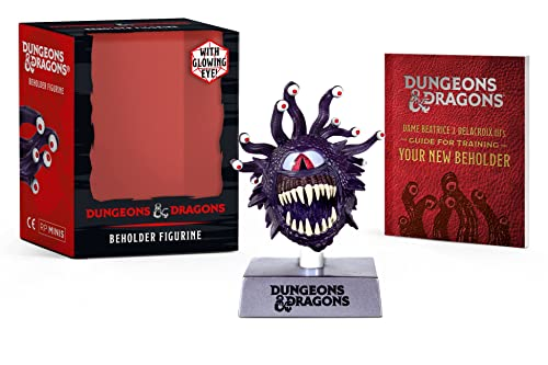 Dungeons & Dragons: Beholder Figurine: With glowing eye!