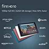 Fire HD 10 Tablet (10.1' 1080p full HD display, 32 GB) – Plum (2019 Release)