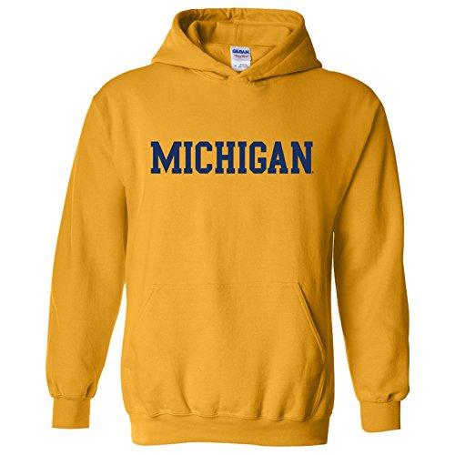 Sudadera con capucha de la NCAA con licencia oficial de la universidad, color del equipo universitario - Amarillo - XX-Large