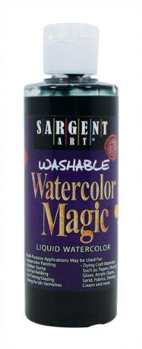 Sargent Art 22-6285 4-Ounce Watercolor Magic, Black